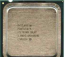 Intel Pentium 4 631 Cedar Mill Box