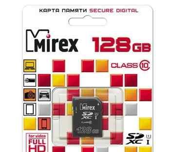 Mirex sdxc Class 10 UHS-I U1 128GB 300x