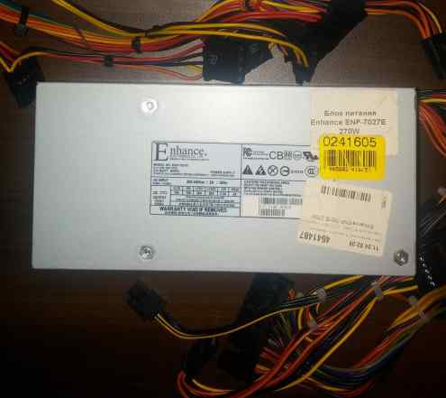 Блок питания Enhance ENP-7027E 270W (формат TFX)