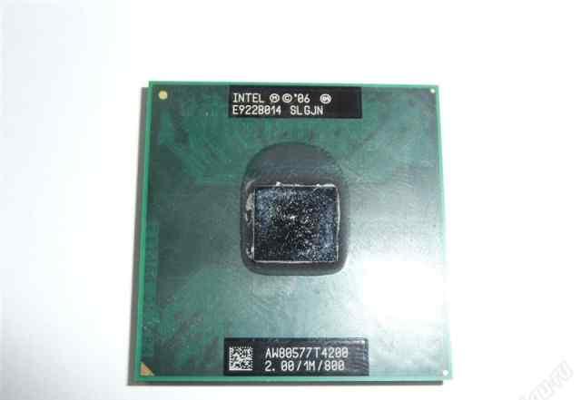 Intel Pentium Dual-Core T4200 2000мhz