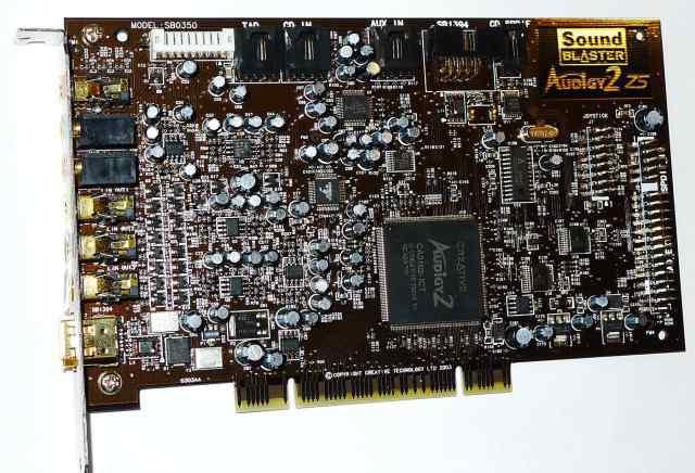 Звуковая карта Creative Audigy2 ZS PCI(SB0350)