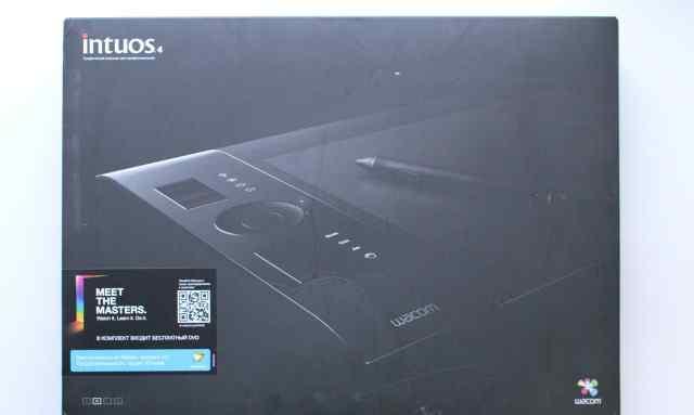 Графический планшет Wacom Intuos4 M