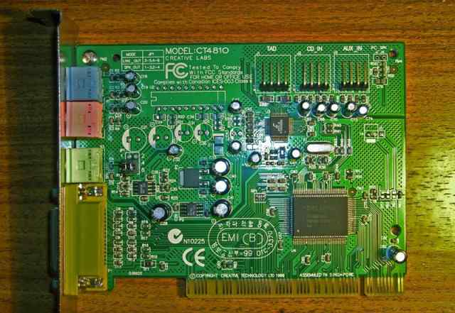 Creative labs CT4810 PCI
