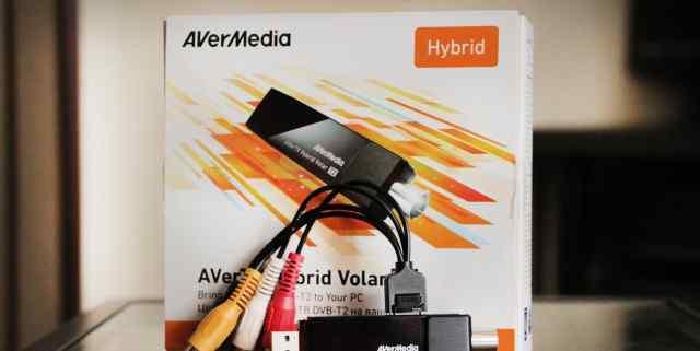 Тв-тюнер/FM-тюнер avermedia avertv Hybrid Volar T2