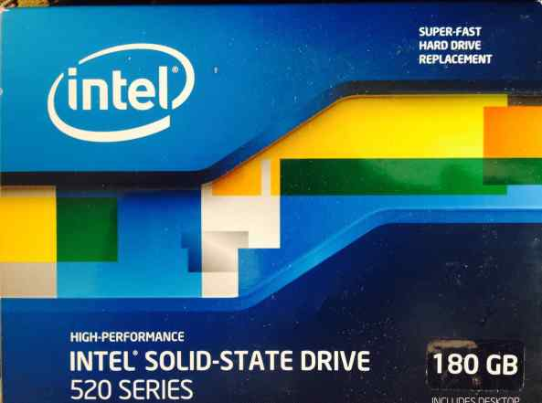 Жесткий диск Intel SSD 520 Series 180GB