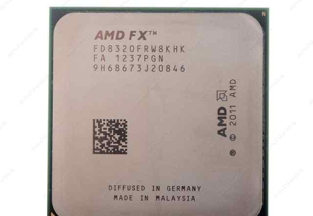 Процесcор FX-8320 Black Edition + Мат. плата