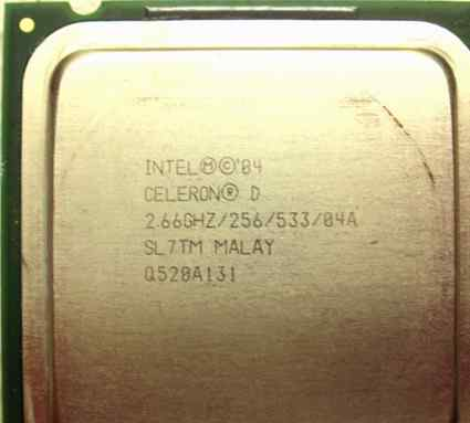Процессор Intel Celeron D 2.66ghz Socket 775