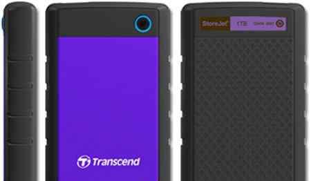 Новый внешний жесткий диск Transcend StoreJet 25H3