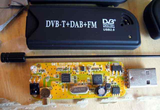 Всеволновый SDR радиосканер для пк или планшета