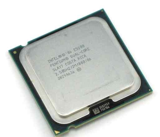 Процессор Intel Pentium Dual Core E5200 2.50GHz