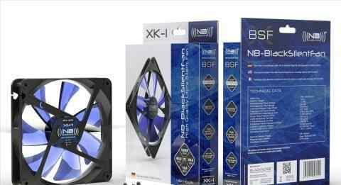 Кулер для пк noiseblocker BlackSilentFan XL1