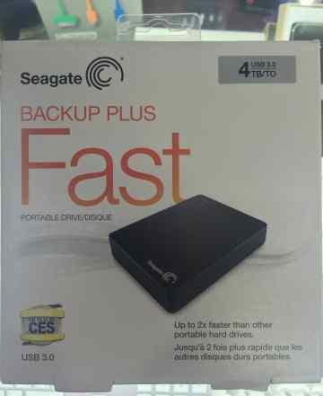 Seagate BackUP Plus Fast 4Tb