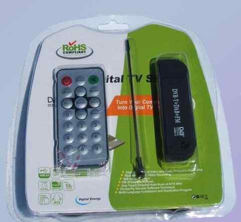 DVB-T TV USB SDR тюнер RTL2832U + R820T