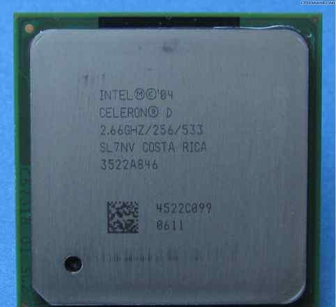 Intel Celeron D 2.66 S-478