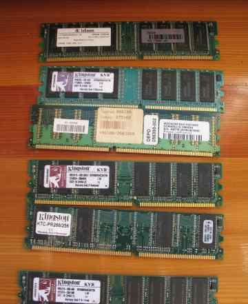 Память для серверов Kingston и HP