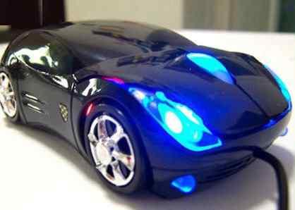 Мышь - автомобиль оптическая проводная