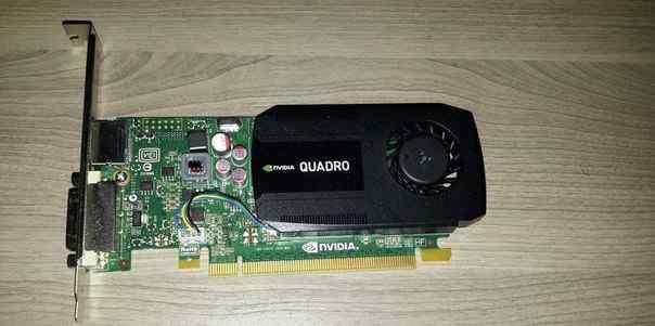 NVidia quadro K600 1024 mb