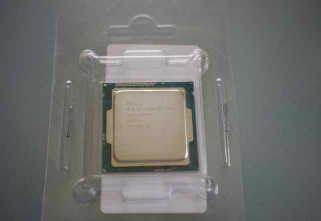 Новый Intel G1840 Haswell тихий кулер и термопаста
