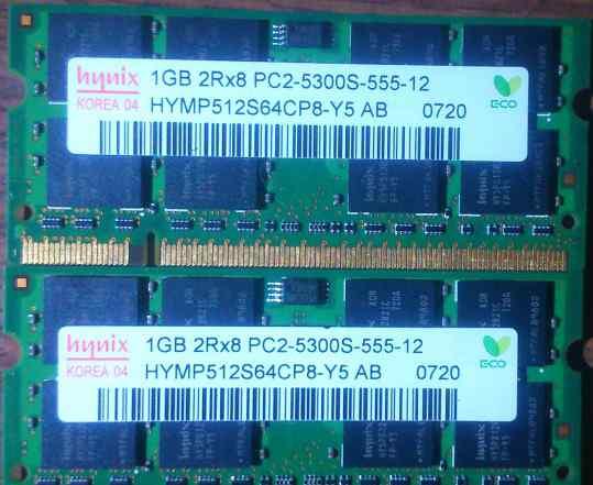 Hynix hymp512S64CP8-Y5 AB X2