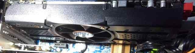 Видеокарта Saphire Radeon HD 5870 Vapor-X