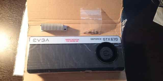 Радиатор evga для GTX670, GTX760