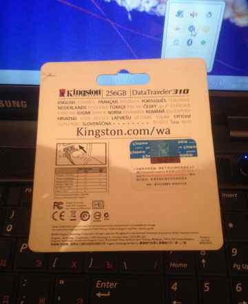 Kingston 256GB Data Traveler 310