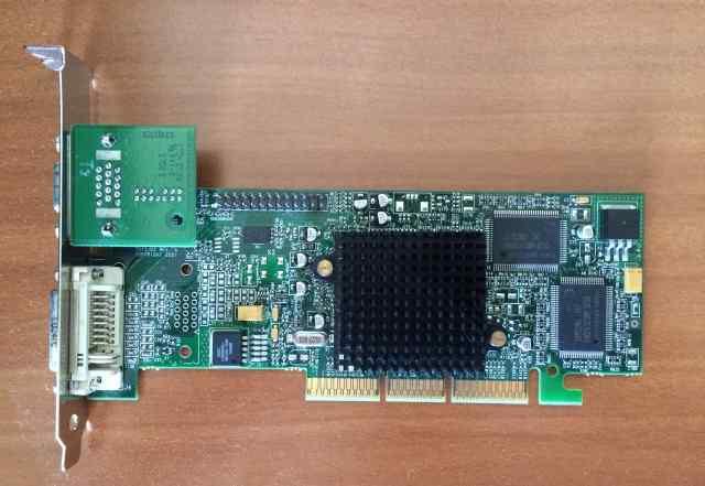 Видеокарта Matrox G550+ mdha32DB AGP