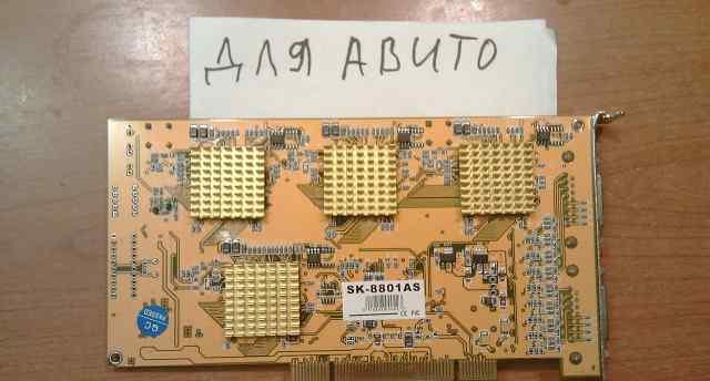 Карта видеонаблюдения 8 портов jmk sk-8801as