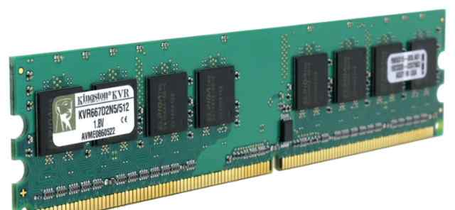 DDR2 Kingston KVR667D2N5/512