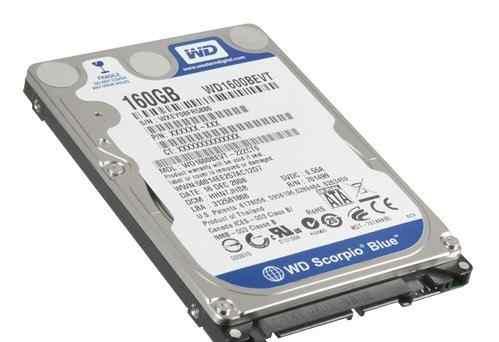 Western Digital WD1600bevt 160GB SATA без бэдов