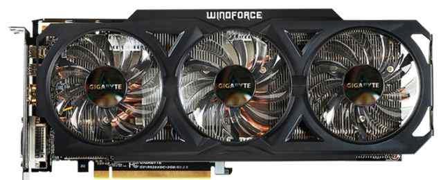 Видео карта gigabyte Radeon R9 280X