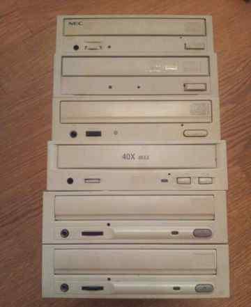 6 приводов CD/DVD-RW