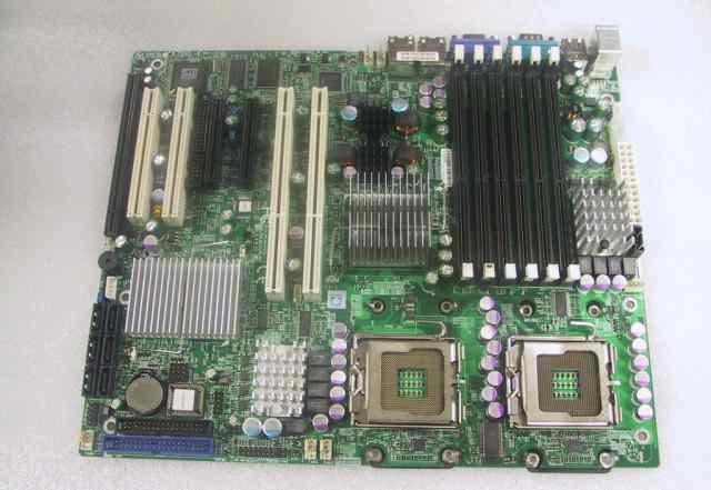 Материнские платы Supermicr x7dvl-e LGA771
