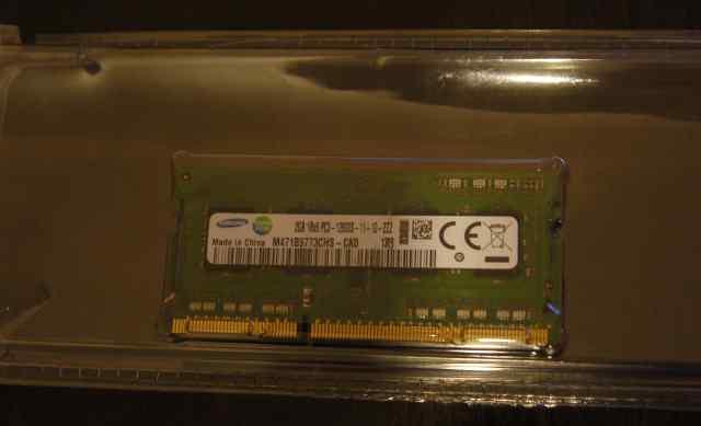 Модуль памяти DDR3 sodimm Samsung 2GB DDR3 1600