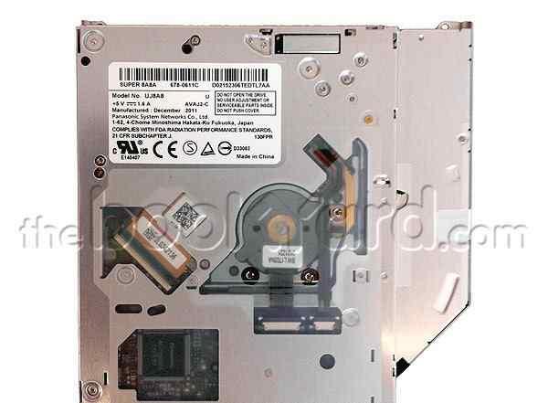 Новый привод Щелевой для Macbook Dell SATA 9.5 мм