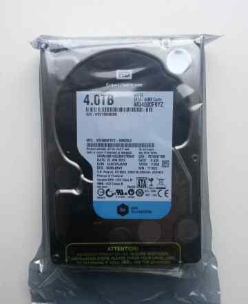 Жесткий диск 4Tb Western Digital WD4000F9YZ