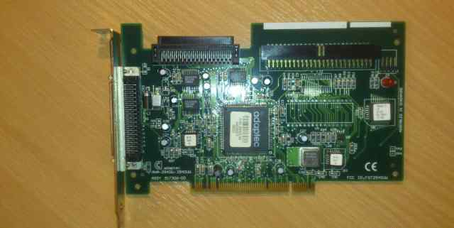 Scsi контроллер на шине PCI
