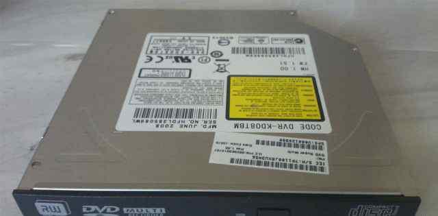 DVD-привод для ноутбука с интерфейсом IDE