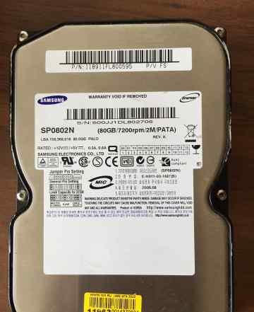 HDD Samsung 80 Gb IDE