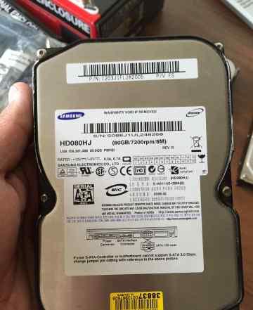 HDD Samsung 80 Gb SATA