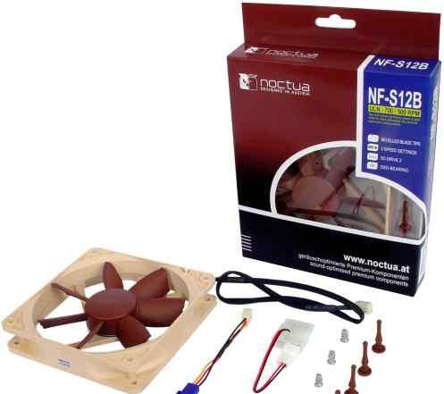 Вентилятор Noctua NF-S12B ULN 120mm, 500 - 700 rpm