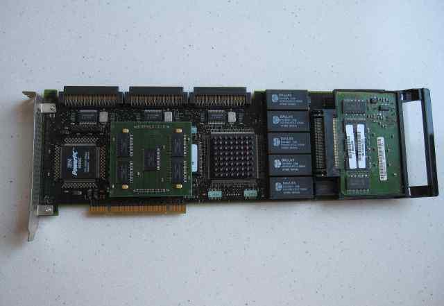 PowerPC IBM scsi raid контроллер