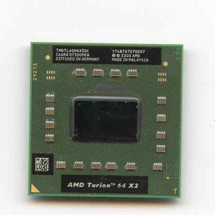 Процессор для ноутбука AMD Turion II