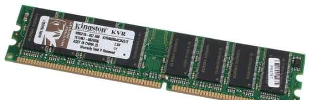 Kingston KVR400X64C3A/512