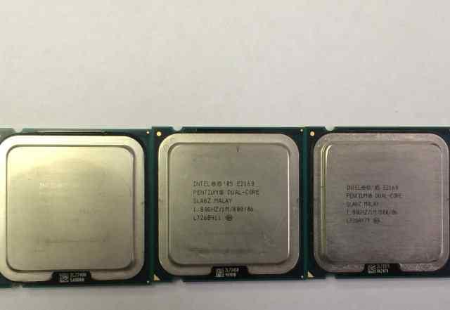 Процессор 775 сокет E2160 Pentium Dual-core 1.8