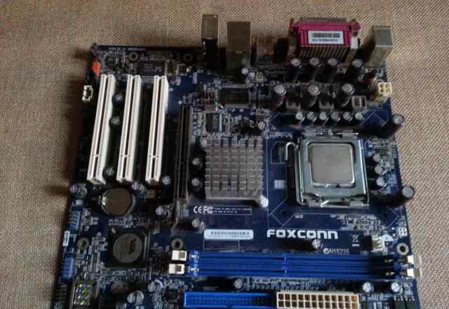 Комплект Celeron D347 + Foxconn P4M800P7MB-RS2H