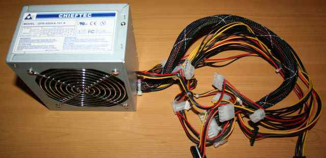 Блок питания chieftec GPS-450AA-101A 450 Вт