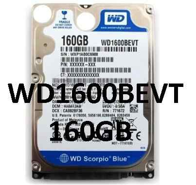 WD1600bevt 160GB 2.5D