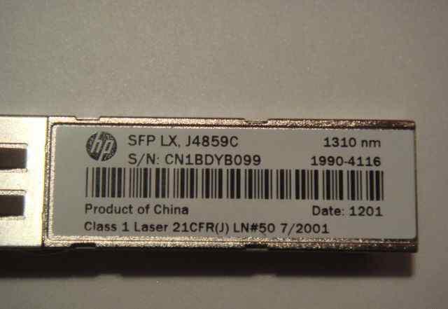 SFP модуль нp LX, J4859C