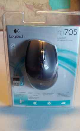 Мышка Logitech Mouse M705 Black USB